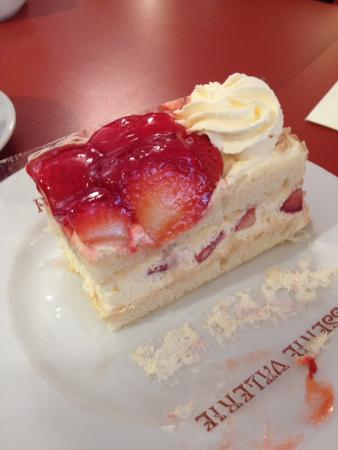 Patisseri Valerie Shrewsbury Strawberry Gateau