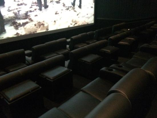 Look Cinema: Sofa Seating In The Loft