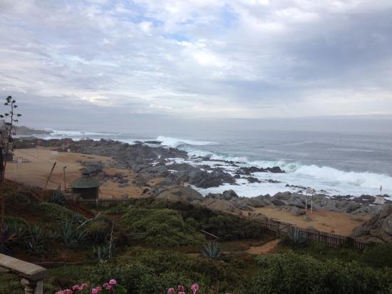 Oceano Pacifico Visto Da Casa De Pablo Neruda Em Isla Negra Bild