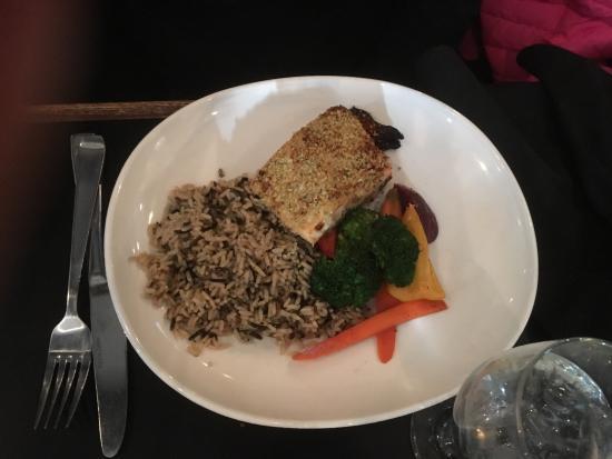 PRIME Social Kitchen: Pecan crusted salmon