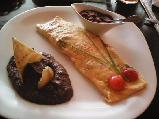 PROYECTO CAFE : omelette de champiñones