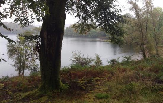 Ardgour, UK: Perched lake near Inn
