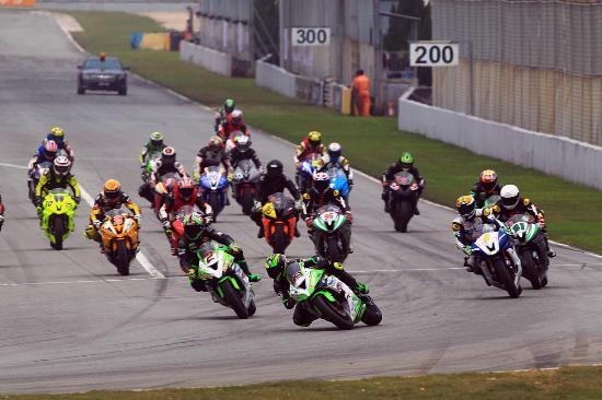 Zhuhai, China: ZIC Superbike Race