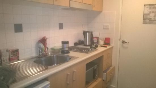 Frankston, Austrália: studio and we were able to cook our meals in the room... fabulous