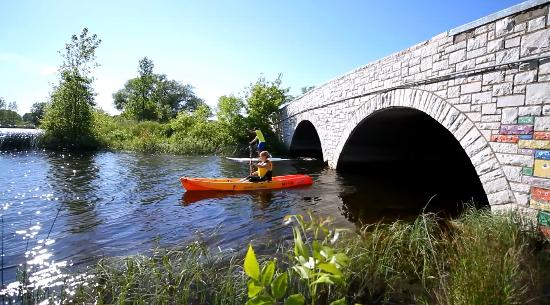 Escanaba, MI: Try a kayak or stand up paddle board. We have a great selection of both!