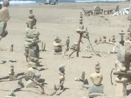 art at the south end of broad beach