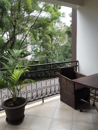 Palacina Residence & Suites: balcony