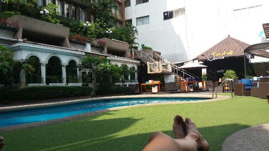 The Tawana Bangkok: kolam renang