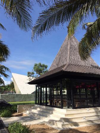 wedding chapel and the restaurant picture of the royal santrian rh tripadvisor com