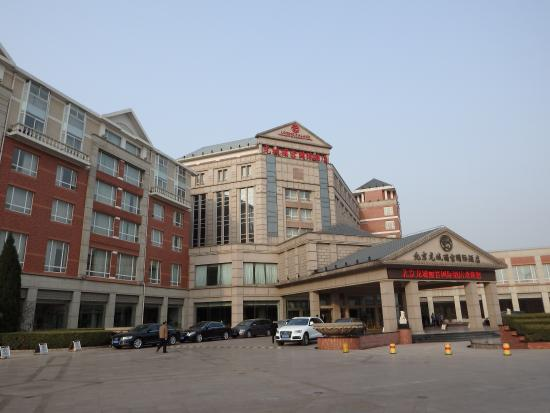 Loong Palace Hotel Lobby Picture Of Wyndham Beijing North Beijing