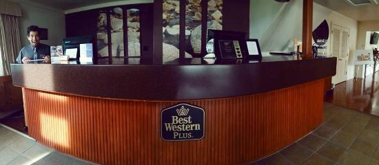BEST WESTERN PLUS Northwoods Inn: Friendly, informative and excited to see you!