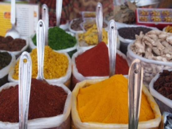 Anjuna, India: Spices