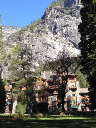 The Majestic Yosemite Dining Room: The Back Of The Majestic...gorgeous  Surroundings