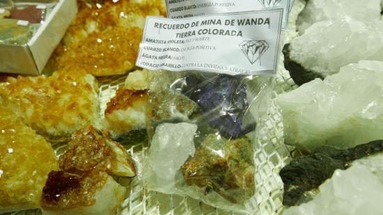 Wanda Mines: Venta de recuerdos