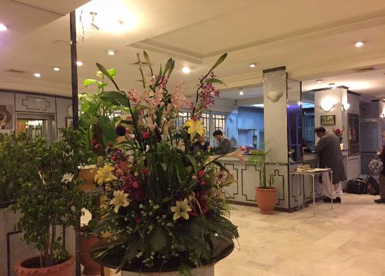 Shalimar Hotel: フロント