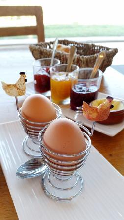 La Maison Tamarin : Miam le petit-déj !