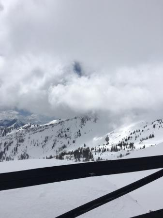 From the Sugarloaf Chair Lift @ Alta Ski Resort