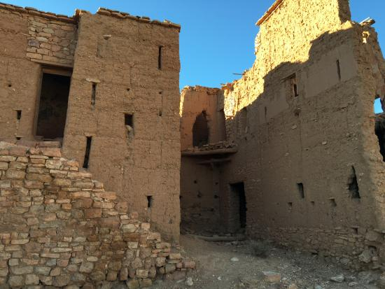 This hilltop Kasbah ruin is a short, but steep walk from Irocha