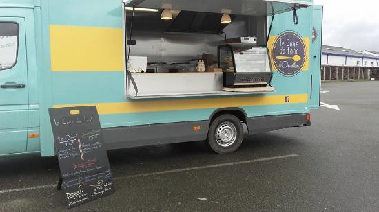 Etrelles, França: foodtruck le coup de food d'ornella