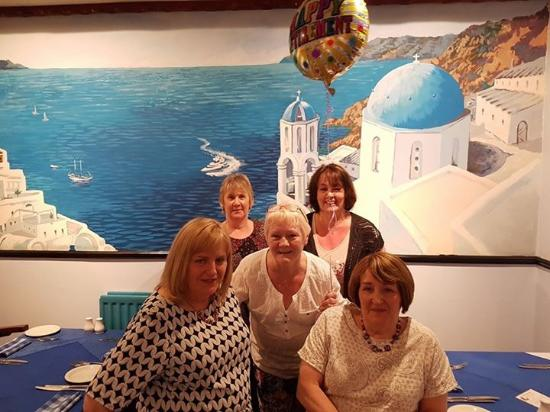 Cramlington, UK: Singing buddies celebrating my retirement
