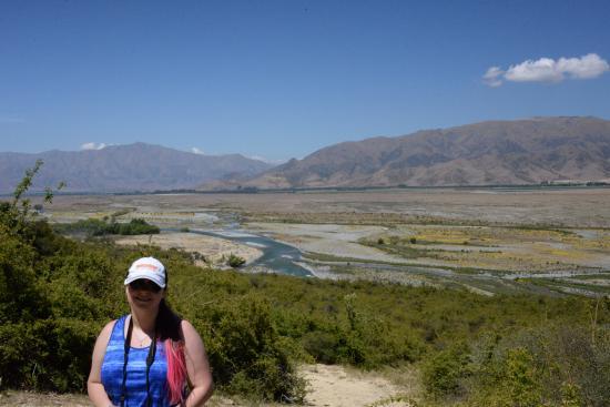 Omarama, Nieuw-Zeeland: The view