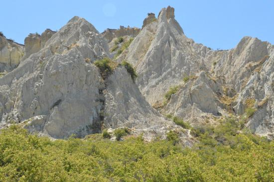 Omarama, Nieuw-Zeeland: Clay Cliff
