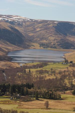 Coupar Angus, UK: View of Loch Lee