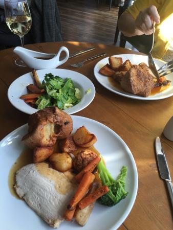 Little Weighton, UK: Sunday roast