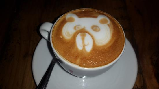 Mamma G's : Now how is this for a Cappucino??