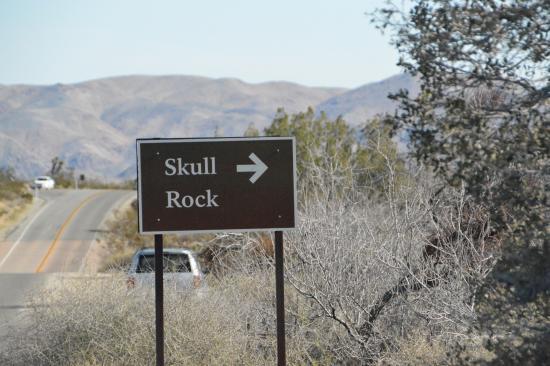 Twentynine Palms, Kalifornia: Scull Rock trail
