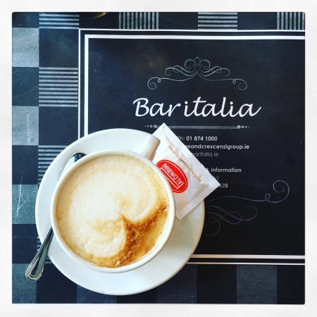 Bar Italia: Best Cappuccino in Dublin