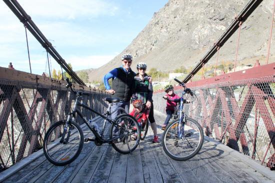 Arrowtown, Nueva Zelanda: Almost there - Kawarau Bridge