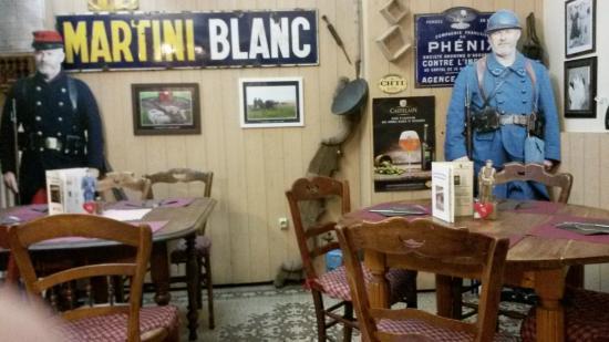 LEstaminet Du Musee Une Partie Restaurant Sur Le Theme De La 1ere