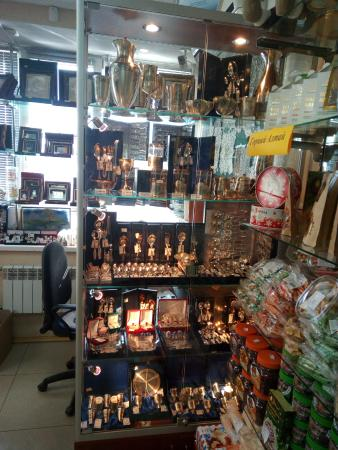 Shop Items and Souvenirs of Velikiy Ustyug