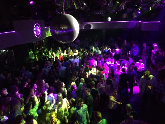 Lucerna Music Bar : When all the locals are in it gets nice and crowded