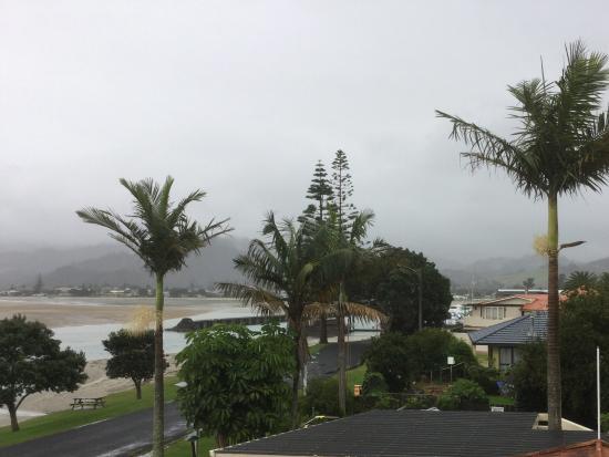 Paku Lodge: View from room 3 balcony