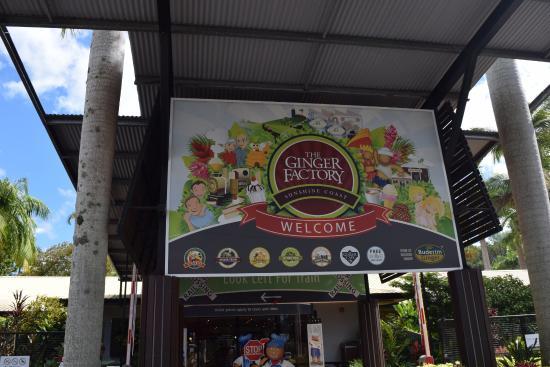 Yandina, Australia: Outside the Ginger Factory