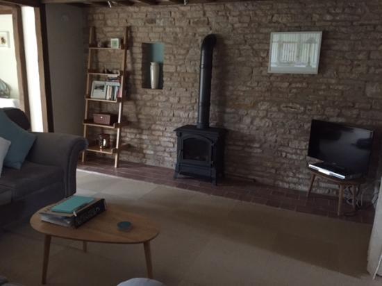 Edith Weston, UK: beautiful exposed brick walls