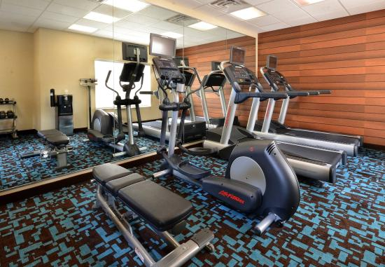 Fairfield Inn & Suites Roanoke North: Fitness Center