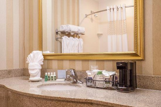 Hampton Inn & Suites Addison: Bathroom