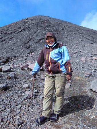 Sumatra, Indonesia: Menuju puncak Gn. Kerinci