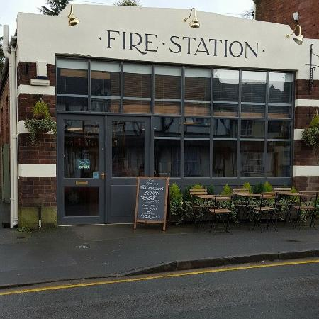 Malpas, UK: New look to The Old Fire Station Cafe Bar