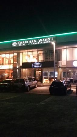 Chairman Wang's