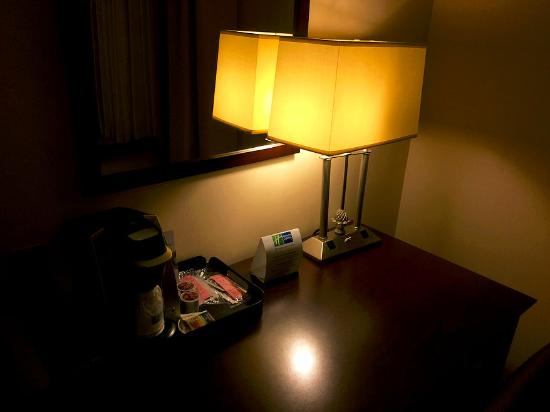 Holiday Inn Express Hotel & Suites Rochester: the desk had everything I needed