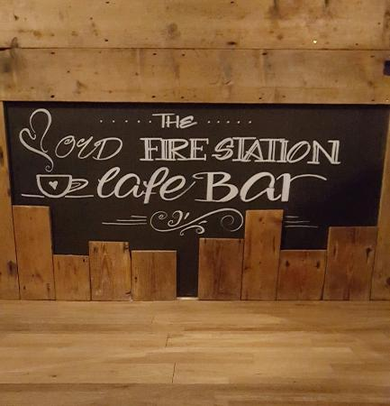 Malpas, UK: Loving the new chalk boards!