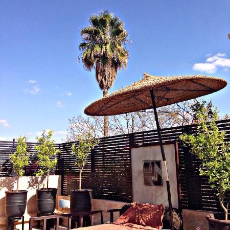 Villa Makassar: Une partie du rooftop