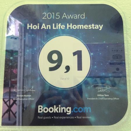 Hoian Life Homestay: booking.com