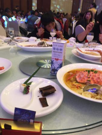 Fuyue Hotel: my table