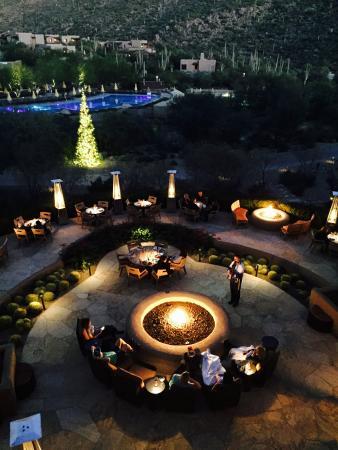 The Ritz-Carlton, Dove Mountain: Equally beautiful at night!