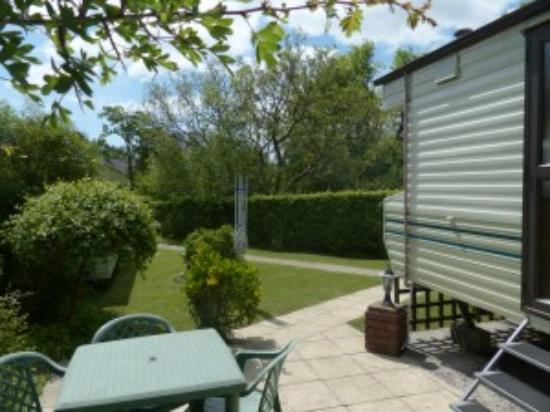 White Gate Caravan Park : Out side are for Valley View Number 3